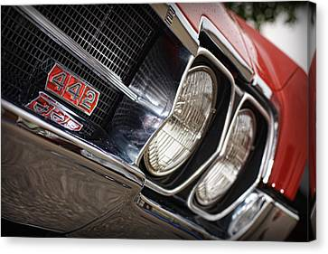 Red 1966 Olds 442  Canvas Print by Gordon Dean II