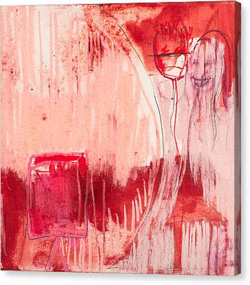 Red. 4 Canvas Print by Marie Tosto