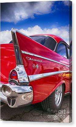 Red 57 Hdr Canvas Print by Tim Gainey