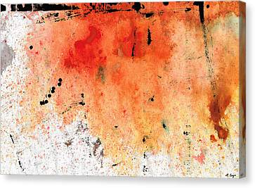 Red Abstract Art - Taking Chances - By Sharon Cummings Canvas Print by Sharon Cummings