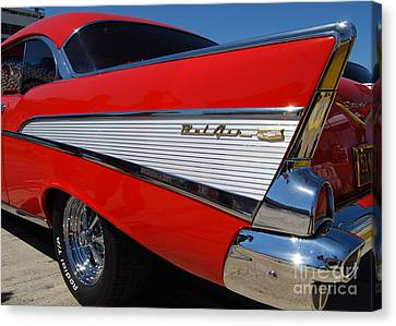 Red Belair Fins Canvas Print