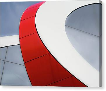 Bent Canvas Print - Red Bow by Luc Vangindertael (lagrange)