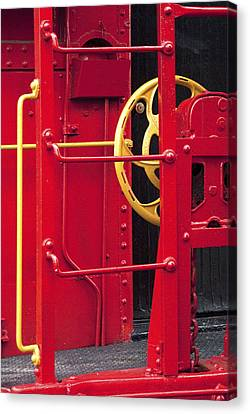 Red Caboose Canvas Print by Paul W Faust -  Impressions of Light