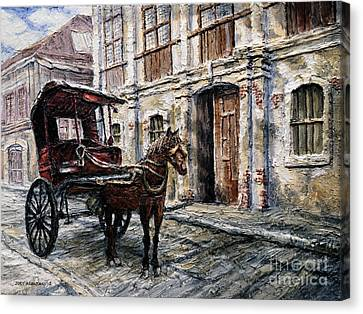 Red Carriage Canvas Print