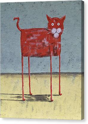 Red Cat Canvas Print by Dan Engh