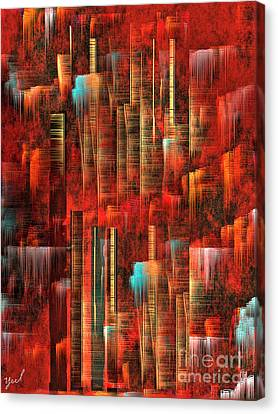 Concrete Jungle Canvas Print by Yul Olaivar