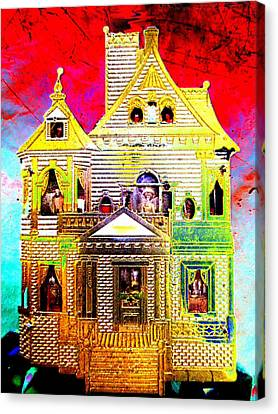 Red Cloud Mansion Canvas Print
