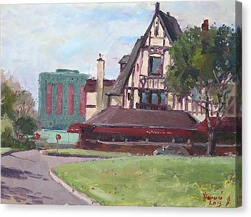 Red Coach Inn-restaurant Canvas Print by Ylli Haruni