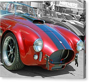Canvas Print featuring the photograph Red Cobra by Shoal Hollingsworth