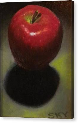 Red Delicious Canvas Print by Blue Sky