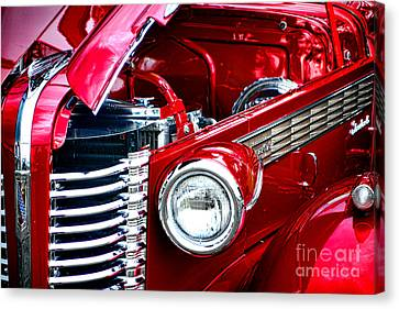 Red Devil Canvas Print by Olivier Le Queinec