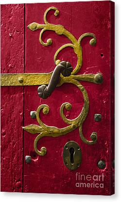 Red Entrance Canvas Print