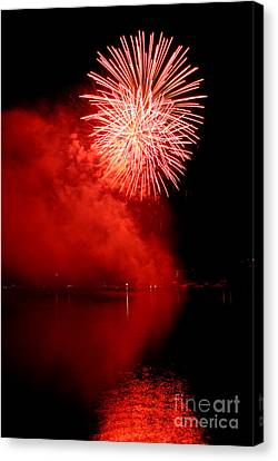 Red Fire Canvas Print