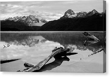 Red Fish Lake Idaho Canvas Print