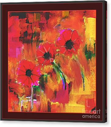 Red Flowers Canvas Print by Nedunseralathan R