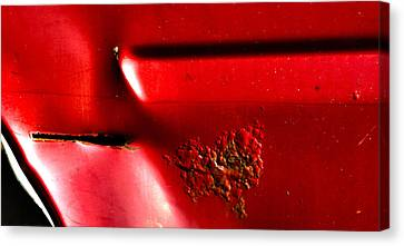 Red Gash Canvas Print
