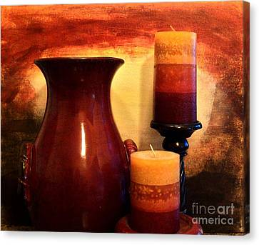 Red Gold Canvas Print