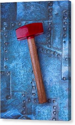 Red Hammer Canvas Print