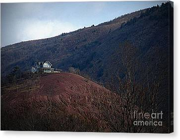 Counry Canvas Print - Red Hill House by M Hess
