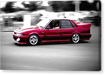 Red Holden Canvas Print by Phil 'motography' Clark