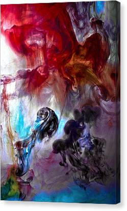 Red Horseman Canvas Print by Petros Yiannakas