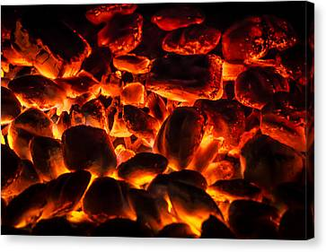 Red Hot 2 Canvas Print by Bradley Clay