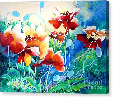 Red Hot Cool Blue Canvas Print