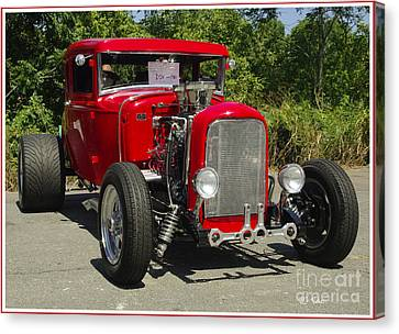 Red Hot Ford Canvas Print by James C Thomas