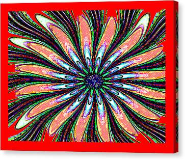 Red Intrusion Canvas Print by Bruce Iorio