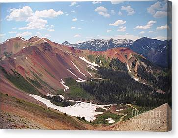 Red Iron Mountain Canvas Print