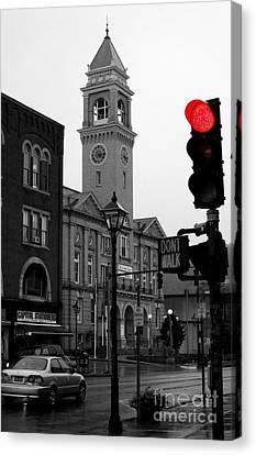 Red Light Canvas Print