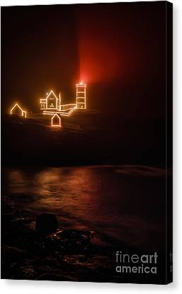 Red Nubble Canvas Print by Scott Thorp