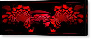 Red October Canvas Print by Robert Kernodle