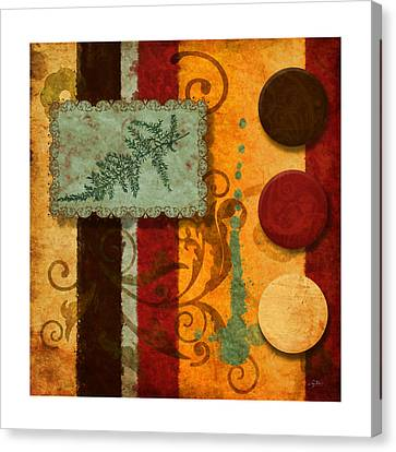 Red Orange Brown 2 Canvas Print