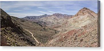 Red Pass Canvas Print by Brad Scott