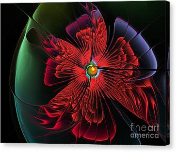 Red Passion Canvas Print by Karin Kuhlmann