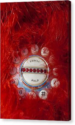 Red Phone For Emergencies Canvas Print