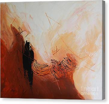 Red Planet  I Canvas Print by Christiane Schulze Art And Photography