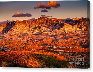 Canvas Print featuring the photograph Red Planet by Mark Myhaver