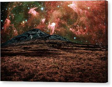 Red Planet Canvas Print by Semmick Photo