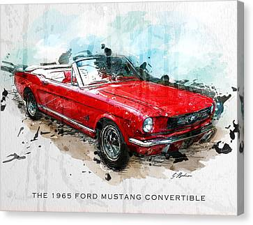 The Red Pony 2 Canvas Print by Gary Bodnar