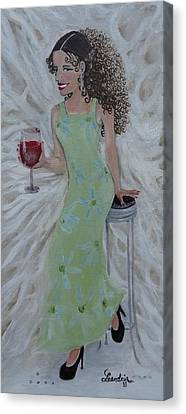 Red Red Wine Canvas Print