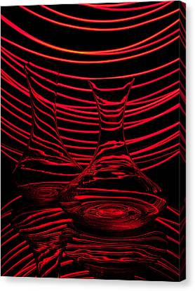 Red Rhythm II Canvas Print by Davorin Mance
