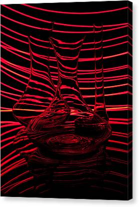 Red Rhythm IIi Canvas Print by Davorin Mance