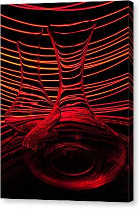 Red Rhythm Iv Canvas Print by Davorin Mance
