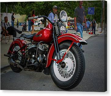 Red Rider Canvas Print