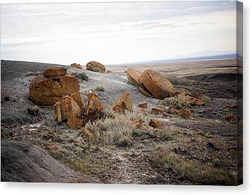 Red Rock Coulee II Canvas Print by Leanna Lomanski
