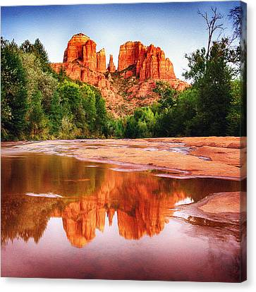 Red Rock State Park - Cathedral Rock Canvas Print