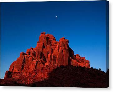 Red Rock Sunrise Canvas Print by Jonathan Gewirtz