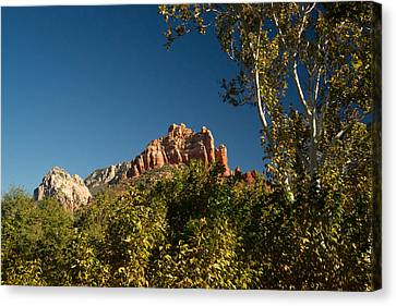 Red Rocks Oak Creek Canyon Sedona 2 Canvas Print by Douglas Barnett